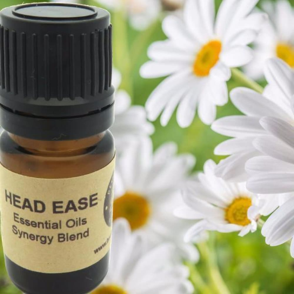 Head Ease Essential Oils Synergy Blend. - Wild Harvested Steam Distilled
