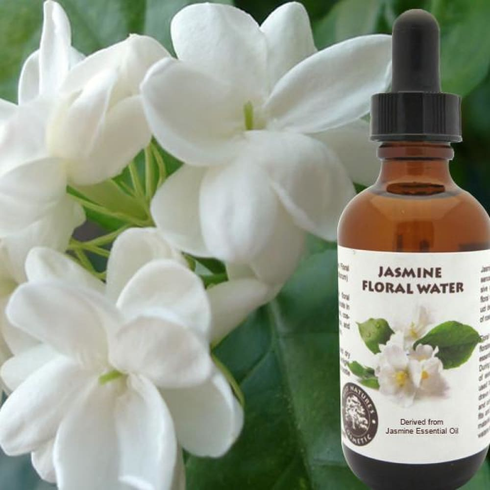 Jasmine Floral Water (Hydroflorate or Hydrosol) - Pure Natural