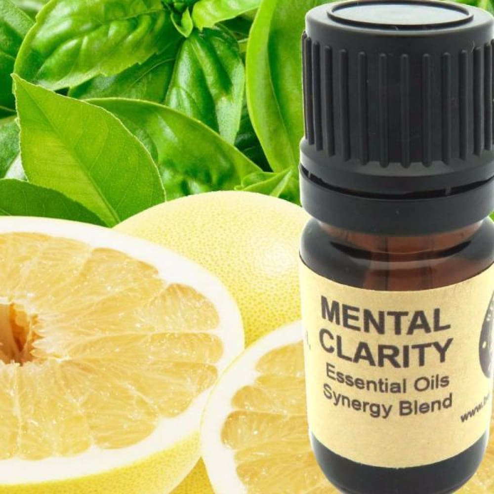 Mental Clarity Essential Oils Synergy Blend. - Wild Harvested Steam Distilled