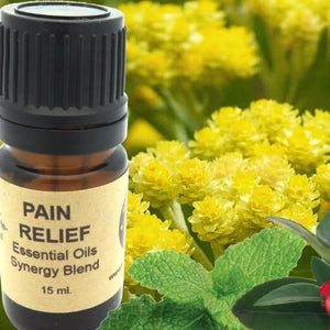 Pain Relief Essential Oils Synergy Blend. - Wild Harvested Steam Distilled