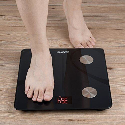 Image of RENPHO Bluetooth Body Fat Scale - FDA Approved - Smart BMI Scale Digital Bathroom Wireless Weight Scale Body Composition Analyzer with