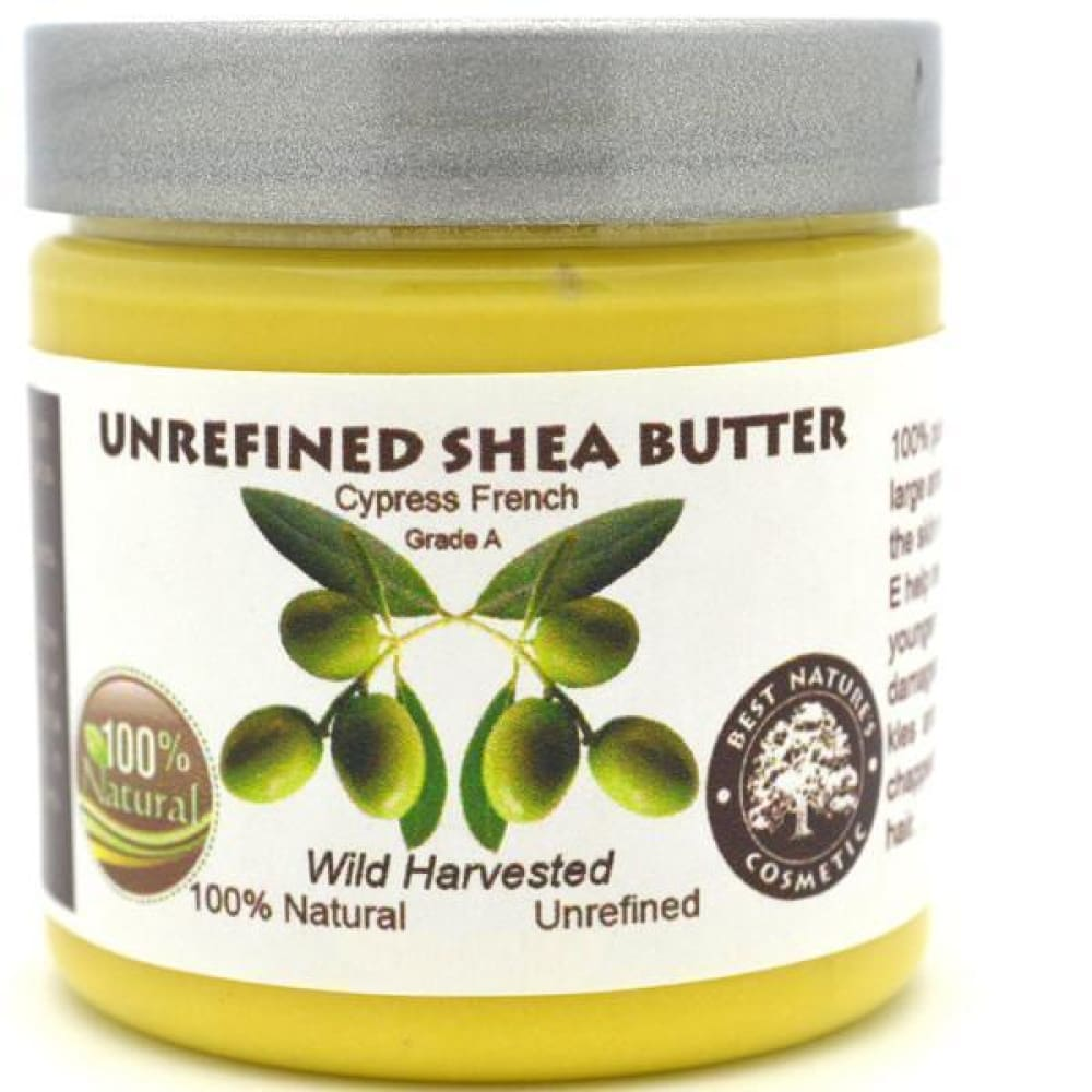 Shea Butter with Pure Soothing Cypress Essential Oil 4oz / 120 ml - Natural Organic