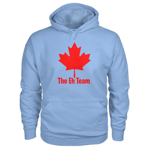 Image of The Eh Team Hoodie - Light Blue / S / Gildan Hoodie - Hoodies