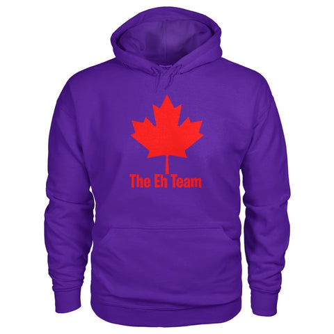 Image of The Eh Team Hoodie - Purple / S / Gildan Hoodie - Hoodies