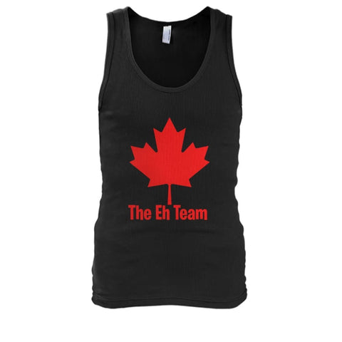 Image of The Eh Team Tank - Black / S / Mens Tank Top - Tank Tops
