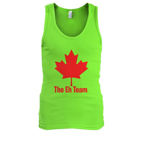 The Eh Team Tank - Lime / S / Mens Tank Top - Tank Tops