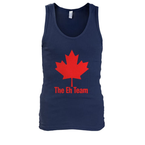 Image of The Eh Team Tank - Navy / S / Mens Tank Top - Tank Tops