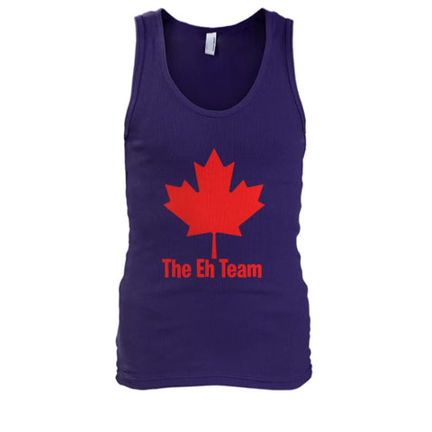 Image of The Eh Team Tank - Purple / S / Mens Tank Top - Tank Tops