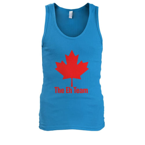 The Eh Team Tank - Sapphire / S / Mens Tank Top - Tank Tops