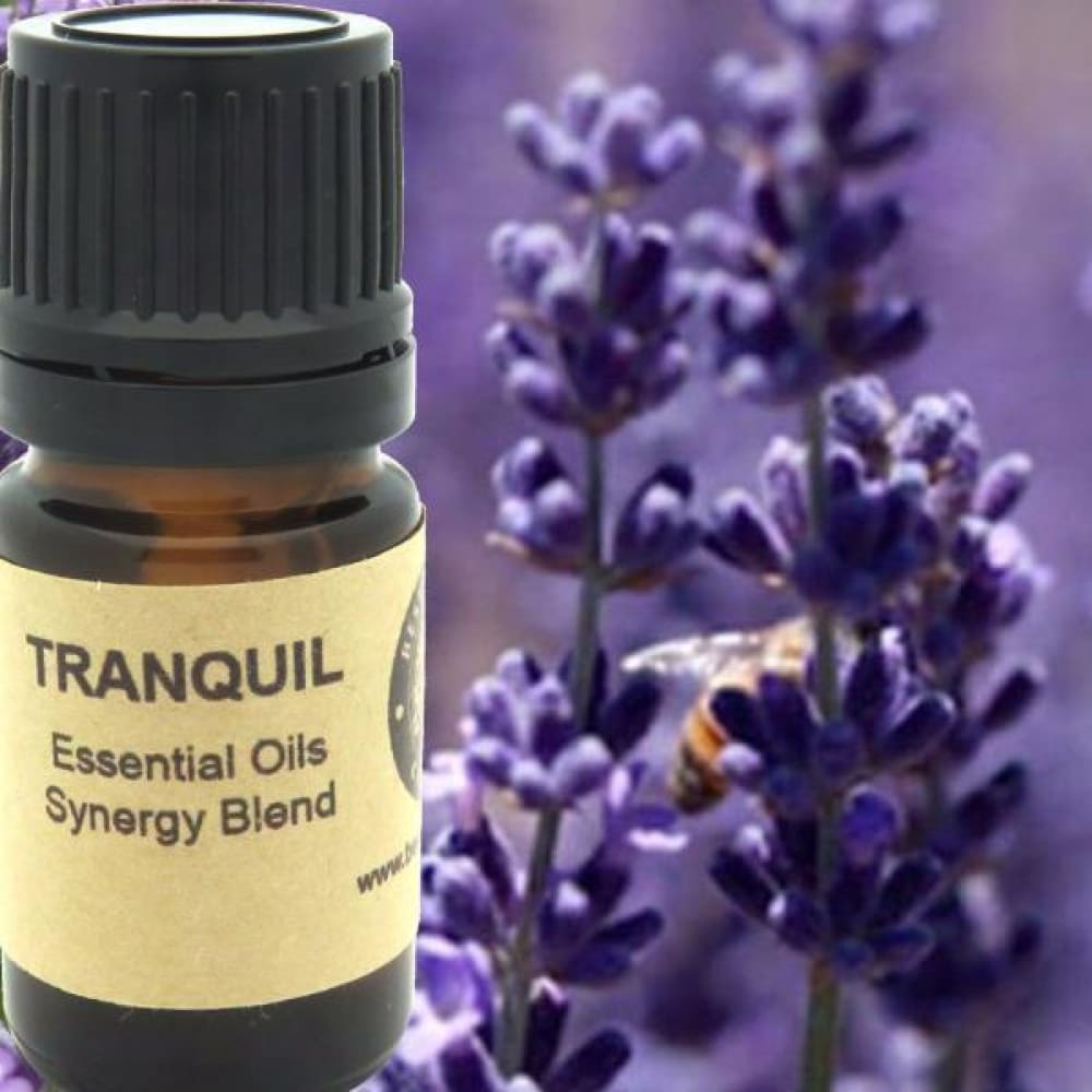 Tranquil Essential Oils Synergy Blend. - Wild Harvested Steam Distilled