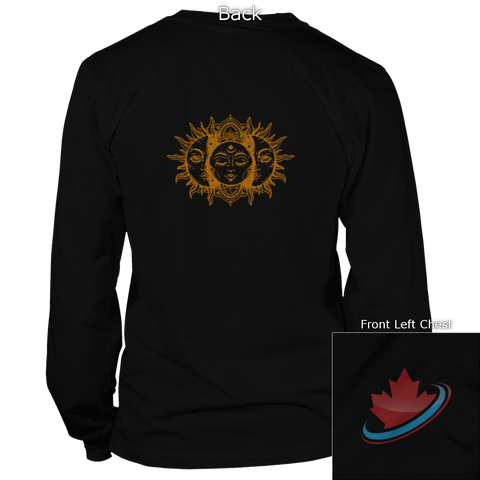 Sun Moon Back Design