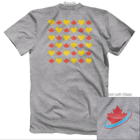Love Canada Back Design
