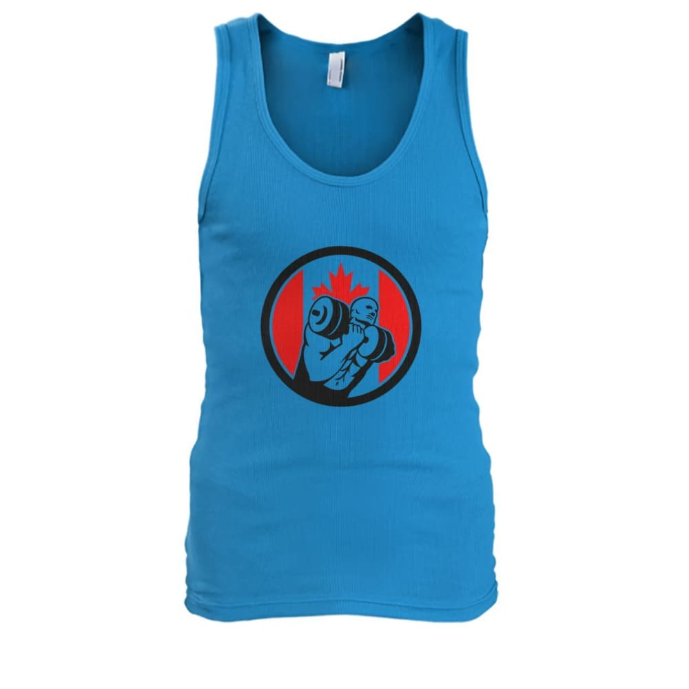 Weight Lifting Tank - Sapphire / S / Mens Tank Top - Tank Tops