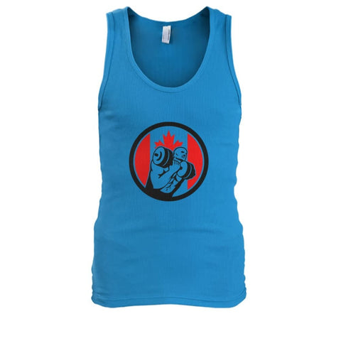 Image of Weight Lifting Tank - Sapphire / S / Mens Tank Top - Tank Tops