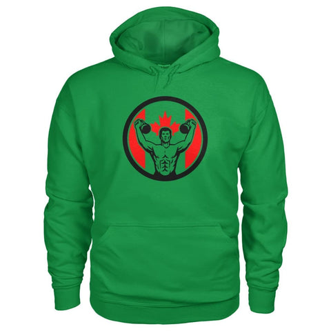 Image of Work Out Hoodie - Irish Green / S / Gildan Hoodie - Hoodies