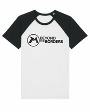 T-shirt baseball beyond the borders femme