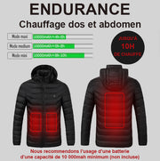 Thermo-Touch DT - Doudoune chauffante homme