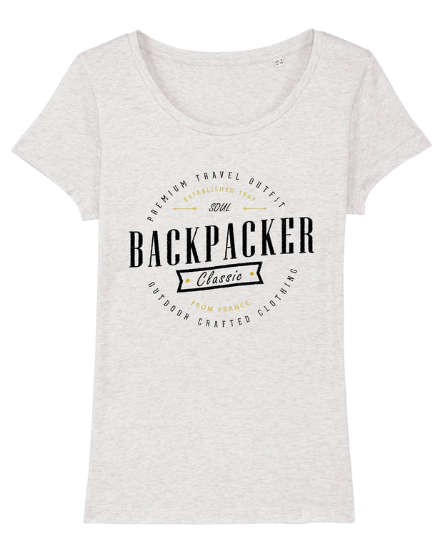 T-shirt Soul Backpacker Femme