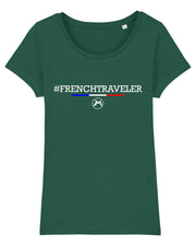 T-shirt French Traveler Femme