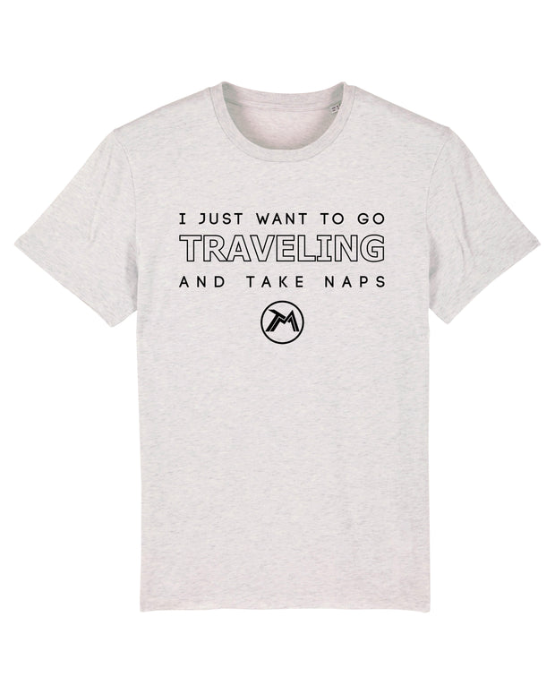 T-shirt Traveling And Take Naps homme