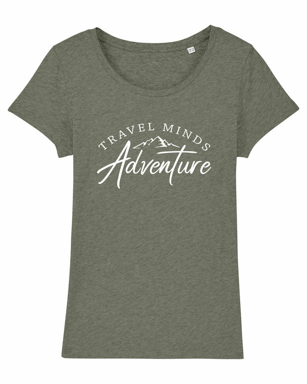 T-shirt Travelminds Adventure Femme
