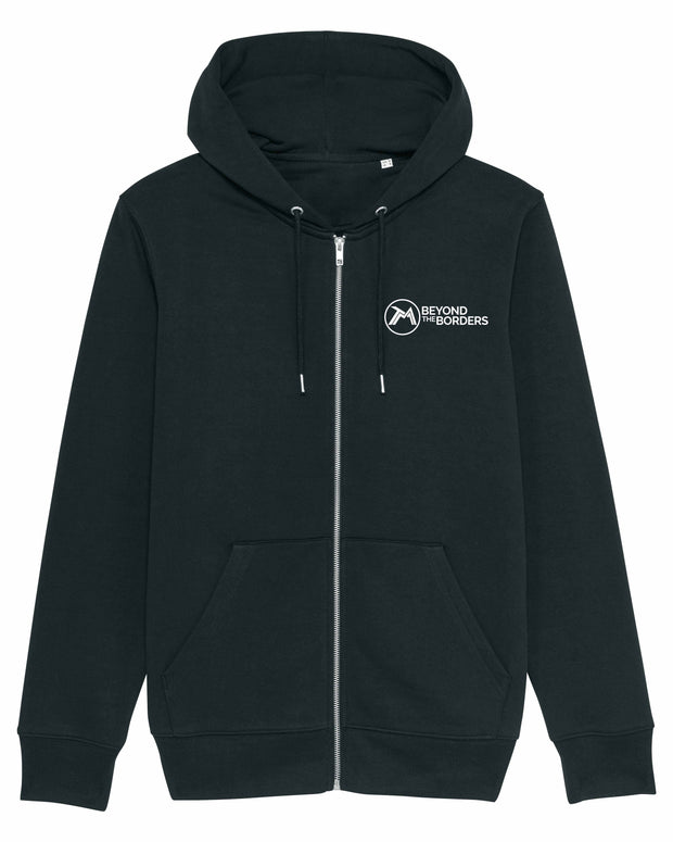 Sweat capuche Zippé Beyond The Borders Homme