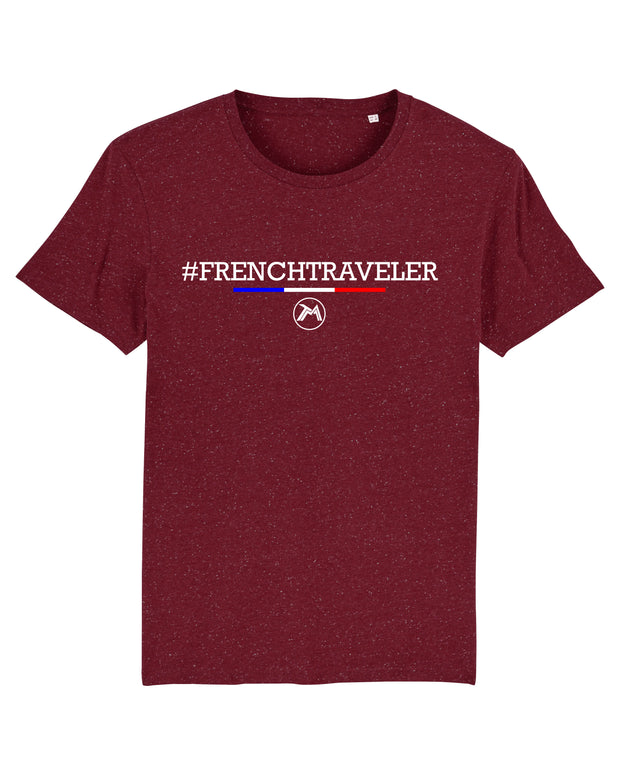 T-shirt French traveler Homme