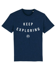 T-shirt keep exploring Homme