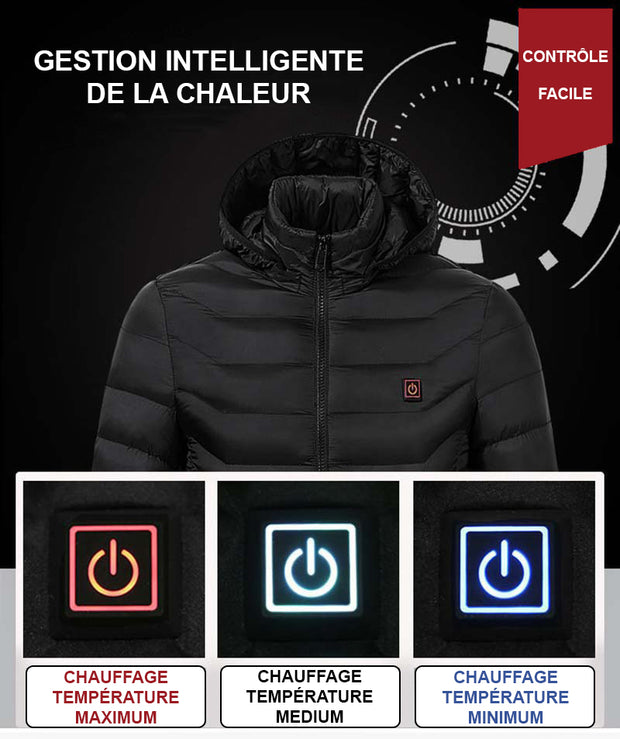 ST Blouson Touch Thermo Thermo chauffant 76bfYyg