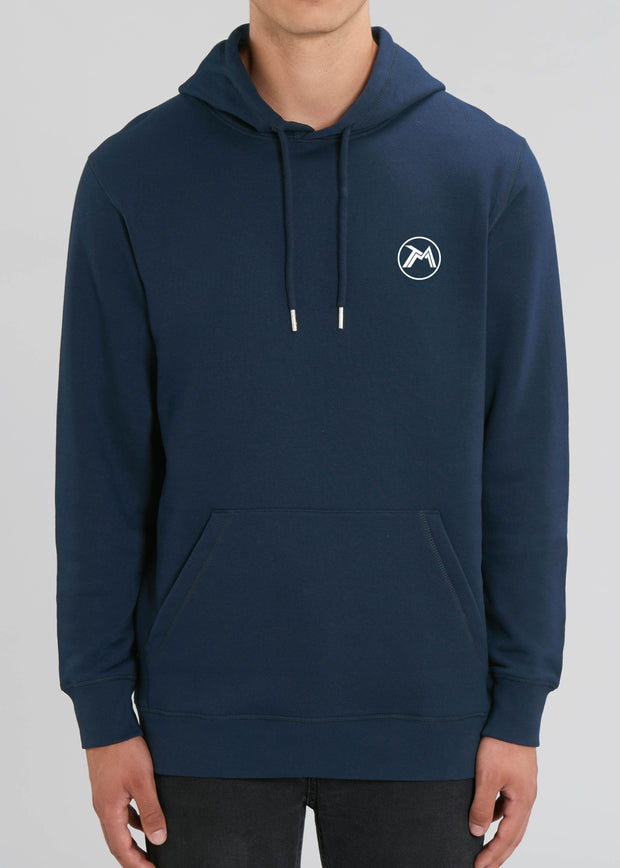 Sweat capuche Badge Beyond The Borders dos Homme