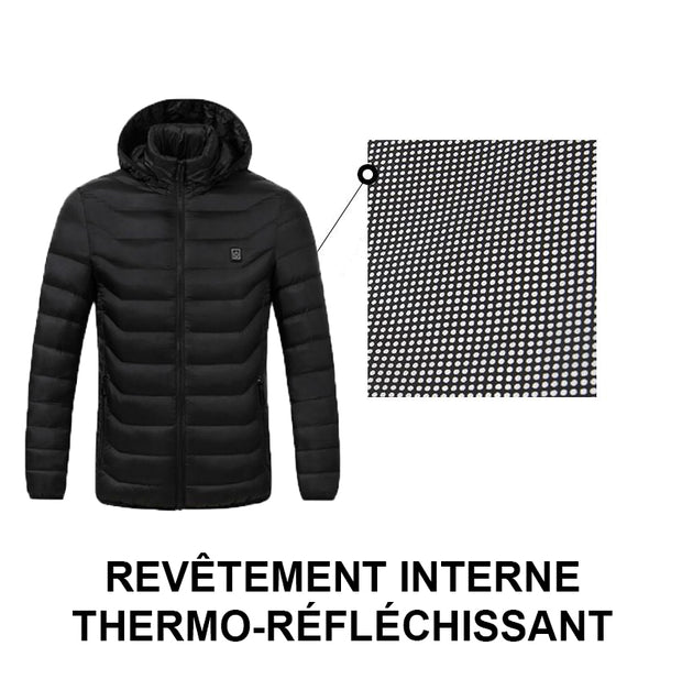 Thermo-Touch DT - Doudoune chauffante femme