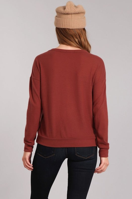 Pumpkin Spice Sweater - Madison Blair Boutique