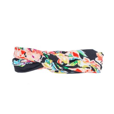 Black Floral Infinity Turban - Madison Blair Boutique