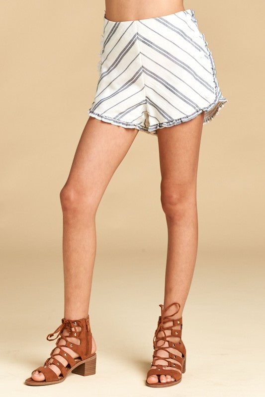Stripe Shorts - Madison Blair Boutique