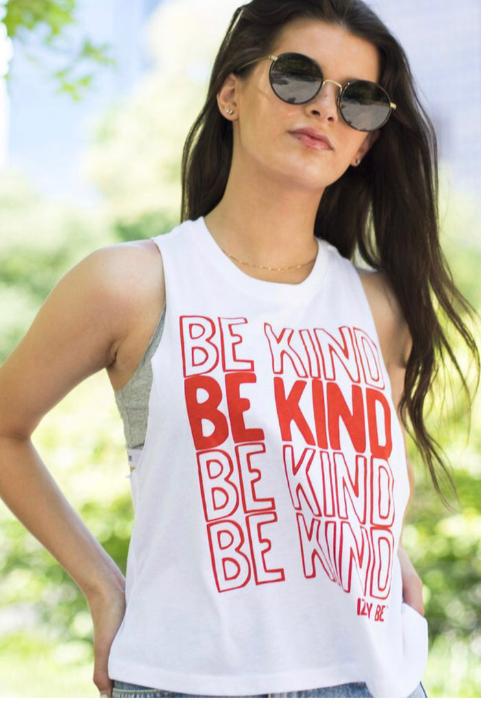 IB Be Kind Stacked Tank Top - Madison Blair Boutique