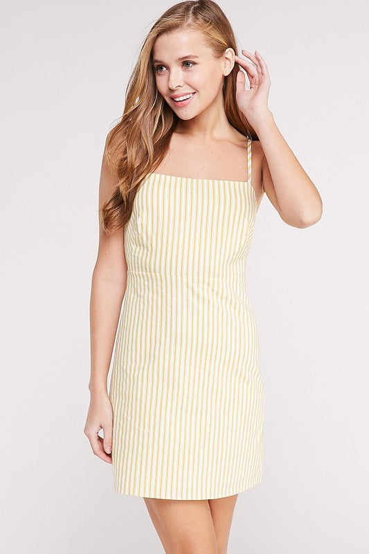 Strappy Back Cami Dress - Madison Blair Boutique