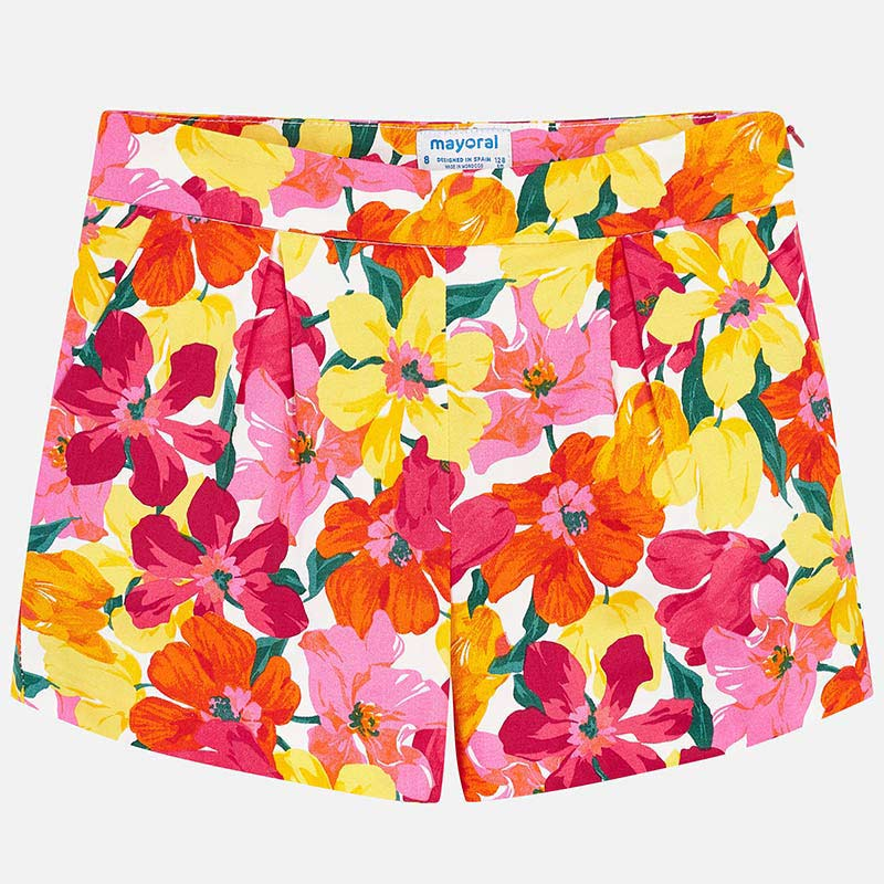 Flower Print Shorts - Madison Blair Boutique