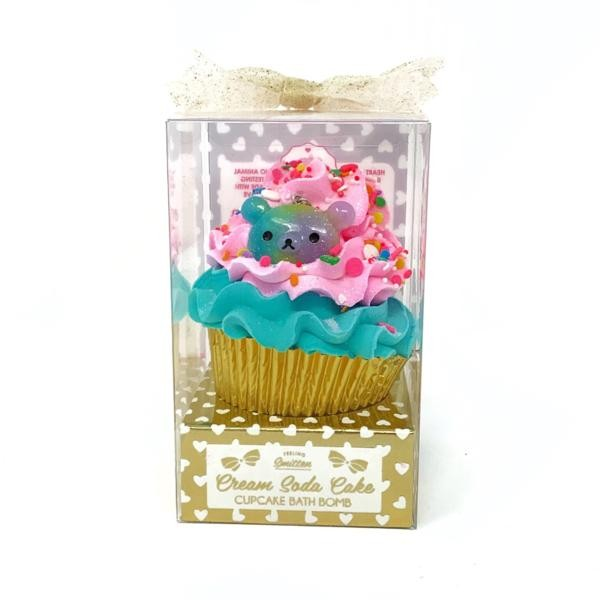 Cream Soda Cupcake Bath Bomb