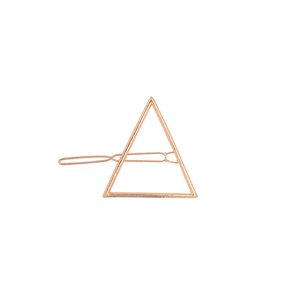 Triangle Hair Clip - Gold - Madison Blair Boutique