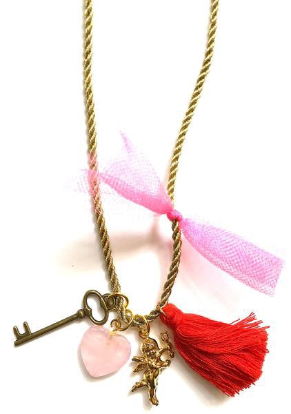 "GL Valentine's ""Key to My Heart"" Necklace - Madison Blair Boutique"