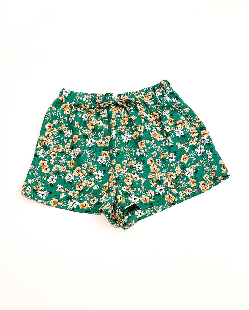 SS Floral Shorts