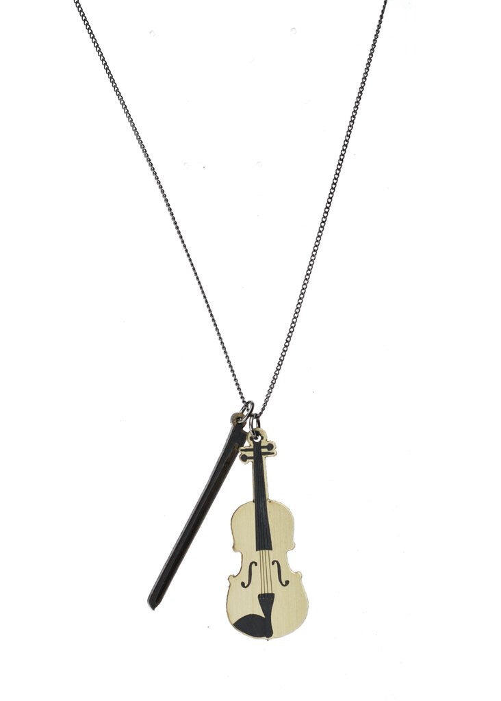 Tiniest Violin Necklace - Madison Blair Boutique