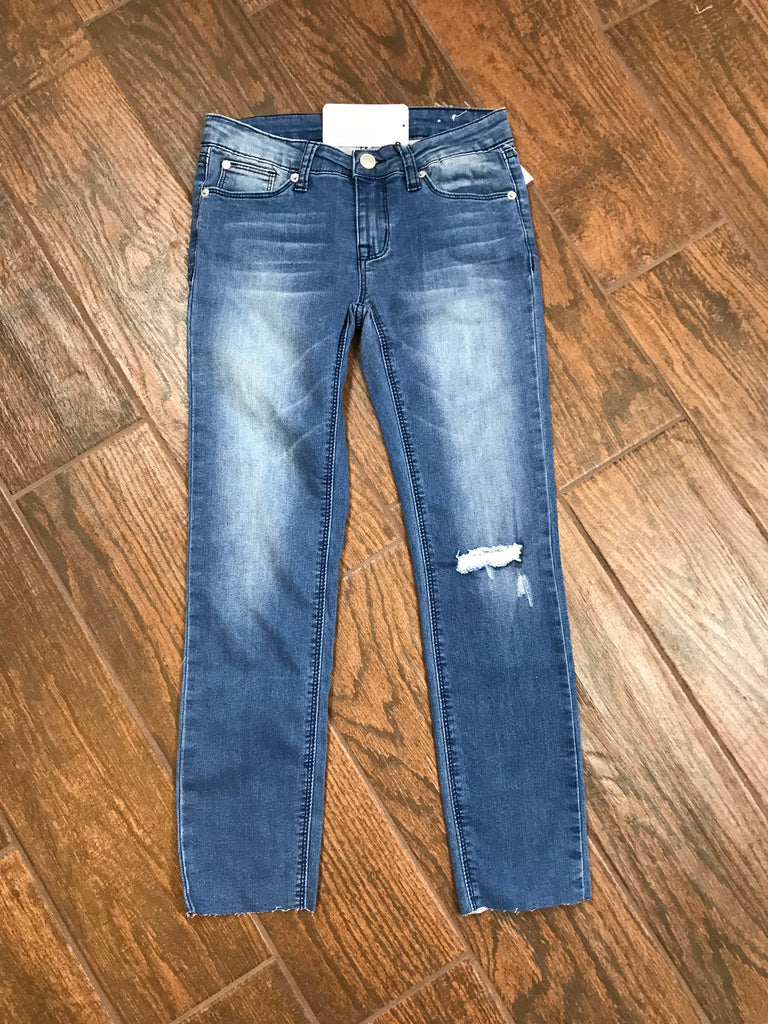 Cailin Ankle Jean - Madison Blair Boutique