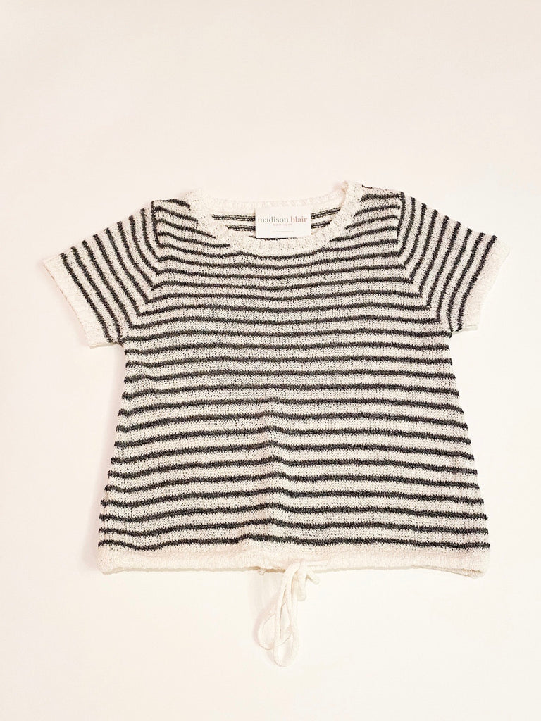 SS Centro Stripe Knit Top