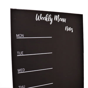 IMPERFECT STOCK - Magnetic Menu Planner