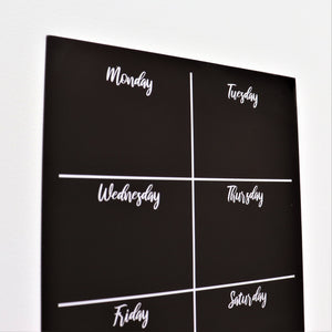 Magnetic Weekly Planner