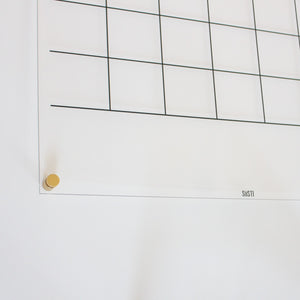 personalised wall calendar with note space