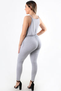 Justice Jumpsuit (Grey)