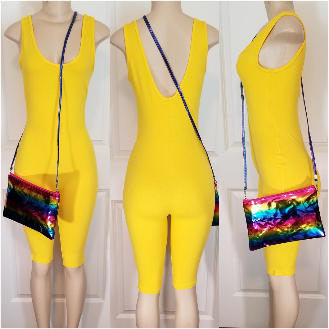 Tank Cat Suit (Yellow)