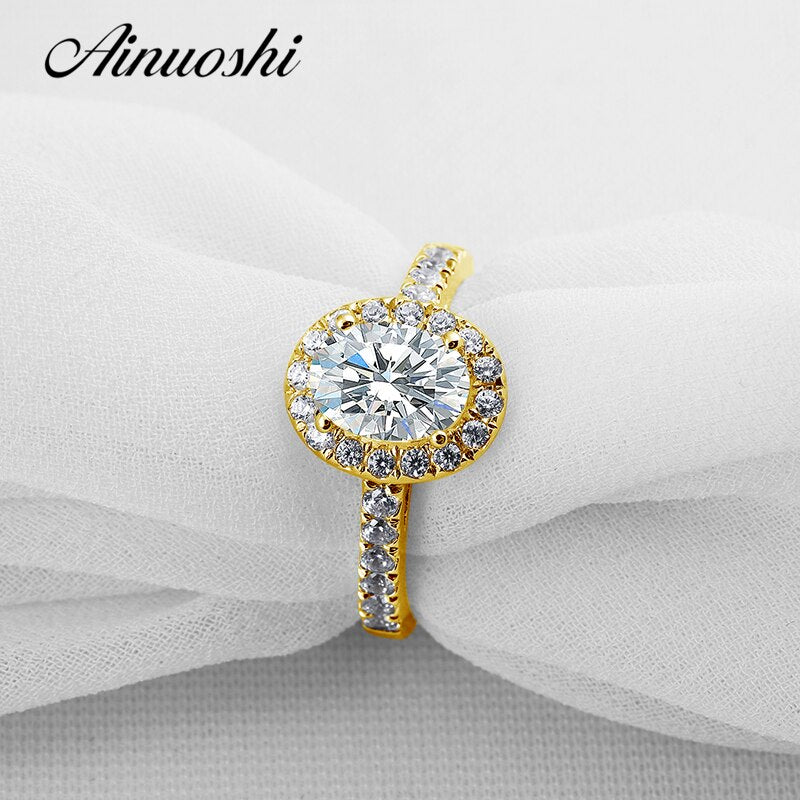 AINUOSHI Trendy Oval Halo